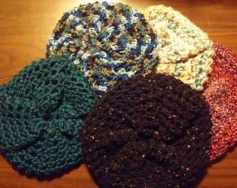 Loom Knit Beret Hat ~~ Handmade Knit Warm Winter Accessory Accessories Adult Teen
