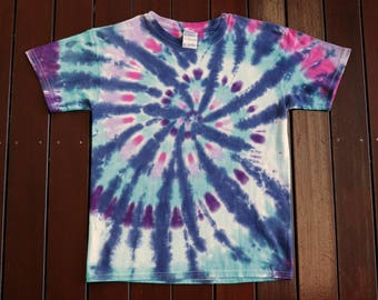 Kid's M Tie Dye T Shirt
