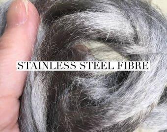 Stainless Steel Fibre for Spinning 25g