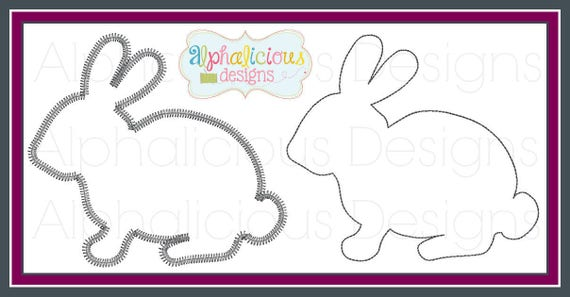 Rabbit Applique, Easter Rabbit Applique, Rabbit Applique, Rabbit Shirt, Easter Rabbit, Easter Shirt