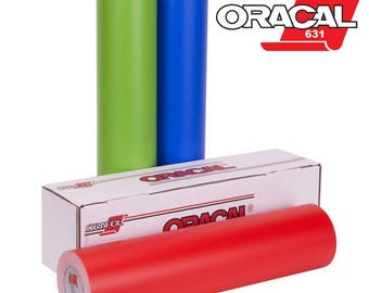 "ORACAL 631 Removable Adhesive Indoor/ Outdoor Vinyl 24"" x 50 Yard Roll"