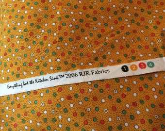 Vintage quilting fabric, RJR Fabrics 2006, Everything but the Kitchen Sink