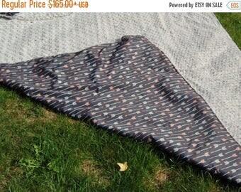 Soft Waterproof Picnic Throw Blanket- Indoor or Outdoor Use