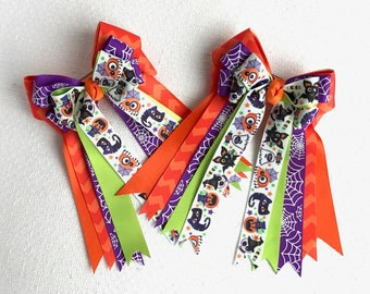 Halloween Hair Bows 4 Horse Shows/equestrian clothing/Ready2Mail
