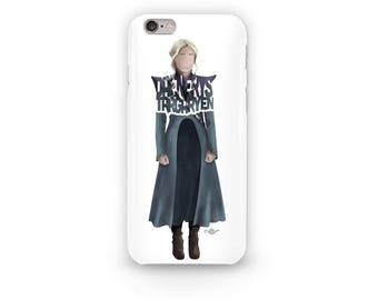 Daenerys Targaryen Phone Case of the Mother of Dragons from the Game of Thrones TV show. Dany as the Khaleesi as the Queen of Westeros