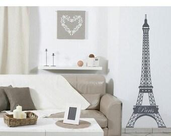 20% OFF Summer Sale Eiffel Tower wall decal, sticker, mural, vinyl wall art