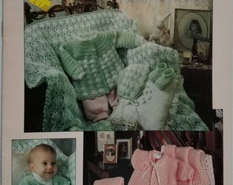 Crocheted Layettes for Baby Instruction Booklet