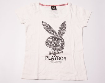 Vintage Playboy Bunny 90s Sequin Tshirt