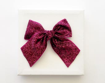 Party Bow ~ Brightest Berry