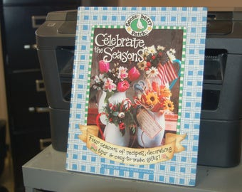 Goose berry Patch - CELEBRATE the SEASONS - Hardback Book - Recipes, Decorating, Tips, Easy to Make Gifts!