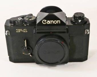 Canon F-1 35mm SLR Film Camera Body