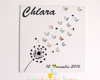 Personalized 20 cm volle butterflies theme table