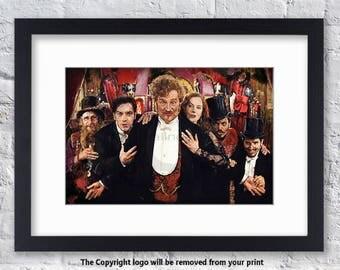 Moulin Rouge Cast - Mounted & Framed Art Print