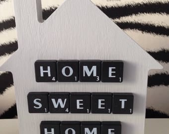 Freestanding 15cm House -  Home Sweet Home - House -Housewarming - Gift