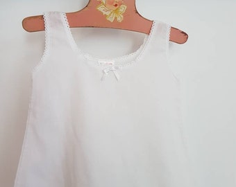 Vintage baby slip tagged a size 2
