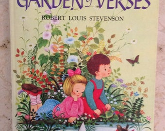 1957 A Child's Garden of Verses by Robert Louis Stevenson & Illustrated by Gyo Fujikawa