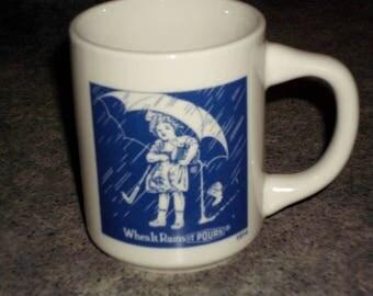Vintage Morton Salt Co. Ceramic Mug