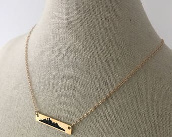 Dallas Skyline necklace