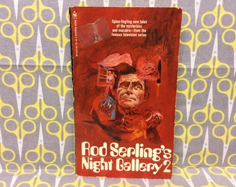 Rod Serling's Night Gallery 2 by Rod Serling paperback book Spine Tingling New Tales Rare vintage TV tie in Twilight Zone