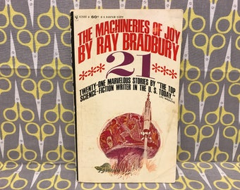 The Machineries of Joy by Ray Bradbury paperback book vintage
