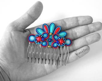 "Out collection, ""little princess"" hair comb Waxebo"
