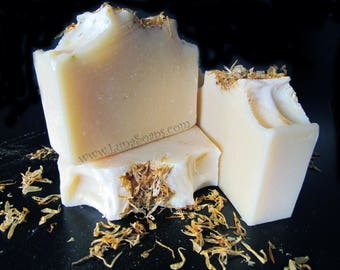 Charming Calendula Silk Soap