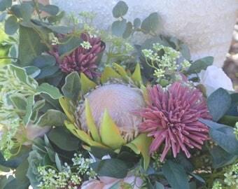 Brides Bouquet, Wedding Bouquet, Bridesmaid Bouquets, Boho Boquets, Protea Bouquet, Boho Bride, Garden Fresh Bouquet