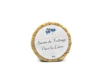 soap for felted wool creations-