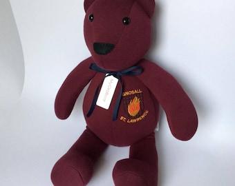 School Uniform Keepsake Bear