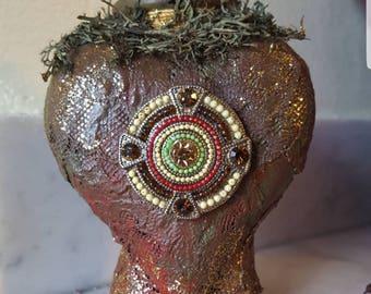 Tribal Potion Bottle