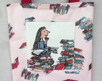 Matilda pocket tote bag - pink
