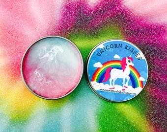 Unicorn Kisses Flavored Lip Balm