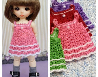 Crotched dress for  Pukifee (pink)