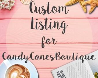 Custom Listing for CandyCanesBoutique - Develop WordPress WooCommerce website from Logo + Website Kit