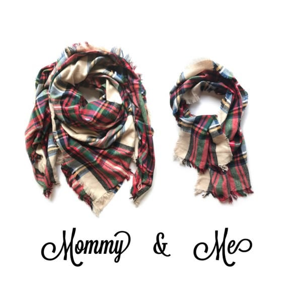 Mommy & Me scarf set
