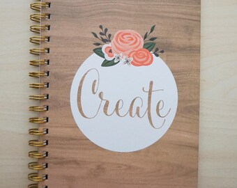 Journal - Create - Spiral Bound by American Crafts