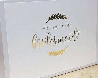 Foiled Bridesmaid Box