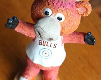 Bennie the Chicago Bull Bobble Head - From Kelloggs