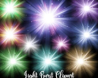 ray of light clipart. light bursts clipart digital overlays sun burst png star clip art ray of