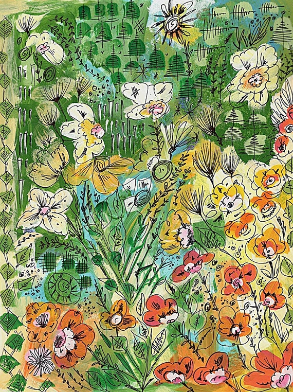 Painting - Growing Wild