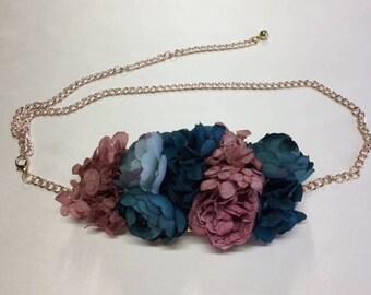 Flower belt, preserved flower belt, preserved flower belt