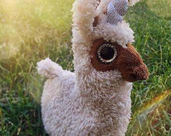 Llamacorn plush