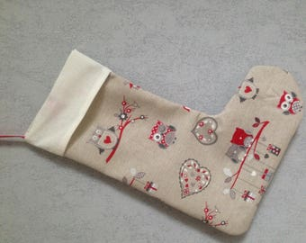 Cute hanging Christmas stocking personalized