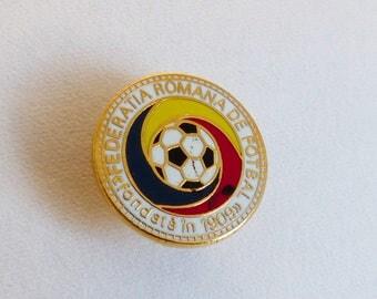 Romania Football Federation Pin Badge