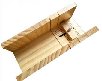 Wooden Box Soap Mold Loaf Soap Cutter Tools Handmade Precision Cutting Tool