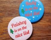 Nice list badge. Christma...