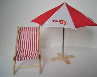 Muffy VanderBear At The Beach Collection 1990