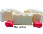 White Gardenia Soap Bulk Pricing Bar Soap Gift For Her Organic Soap Moisturizing Soap Scented Soap Artisan Gift Soap