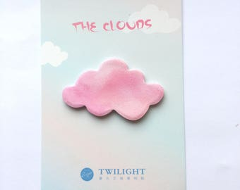 Kawaii cloud memo pad