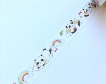 Cute panda washi tape